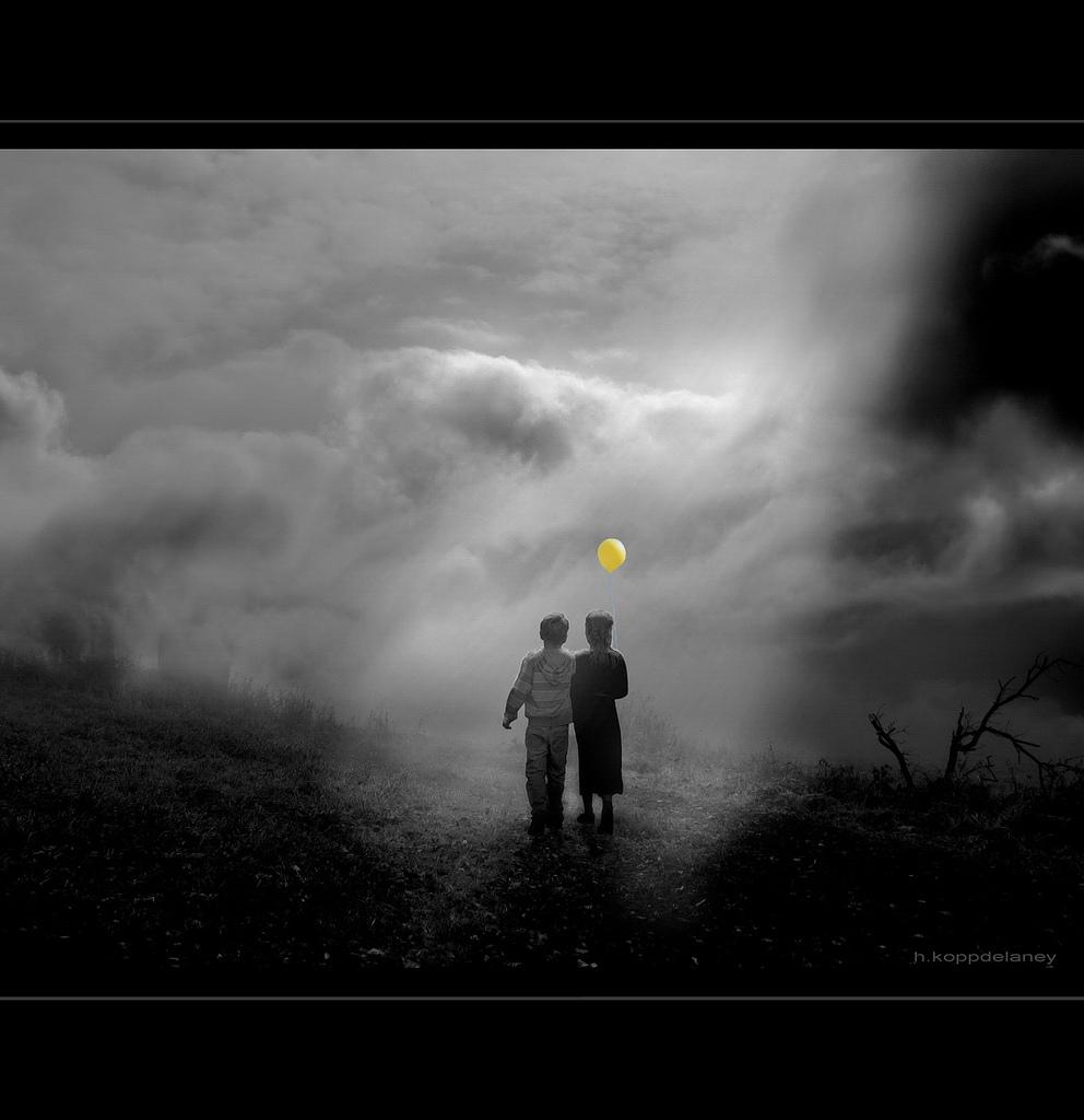 Loslassen oder verbunden bleiben in der Trauer?