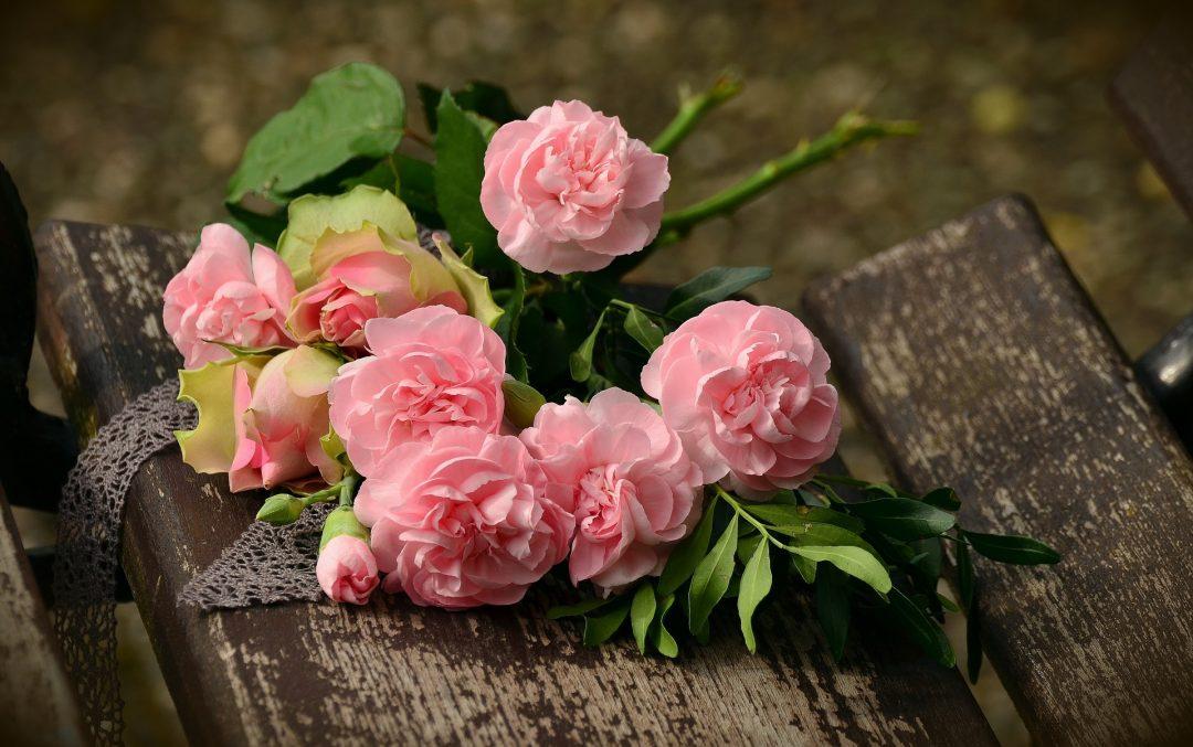 Blumen für den Gedenktag